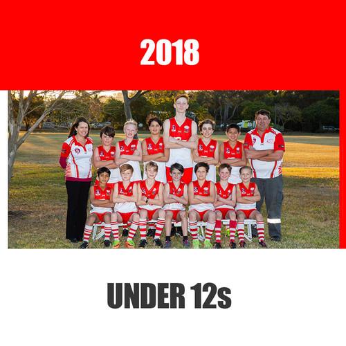 Under 12s 2018
