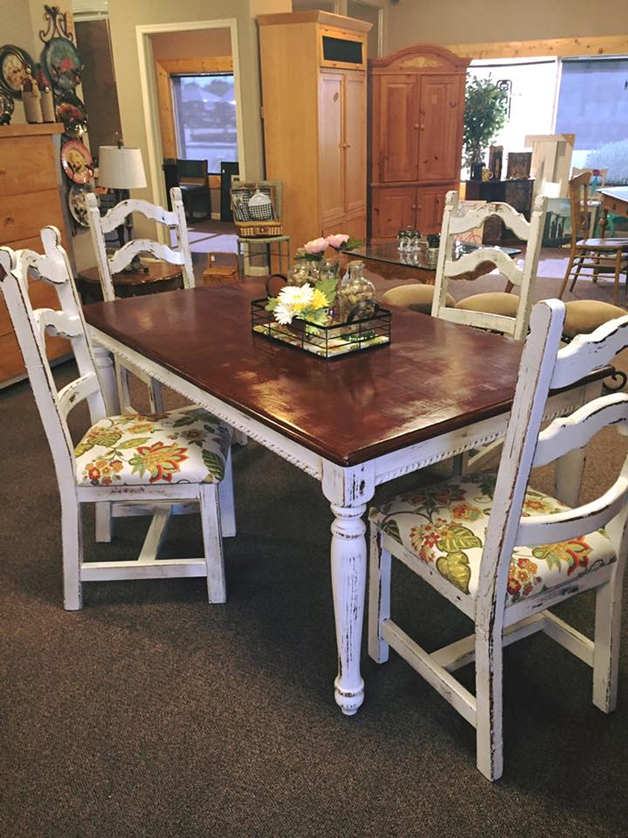 A Collection Of Furniture Pieces That We Have Repurposed And Restored.