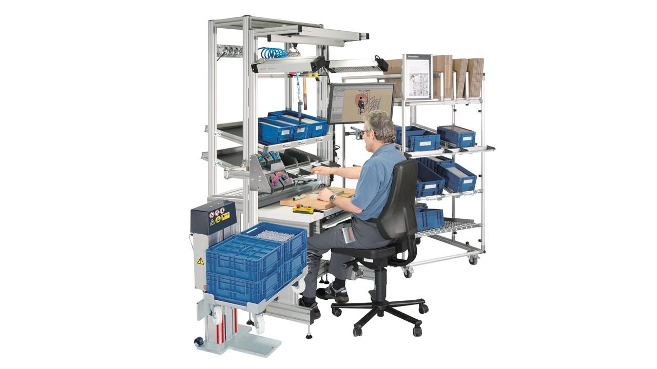 Postazione di lavoro ergonomica