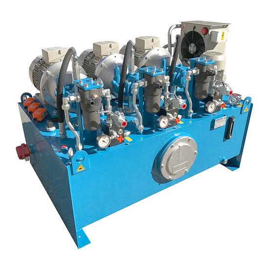 Centrale oleodinamica con 3 motori Sieme
