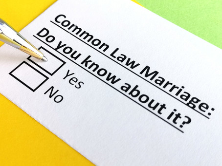 Understanding Common Law Marriage and Divorce