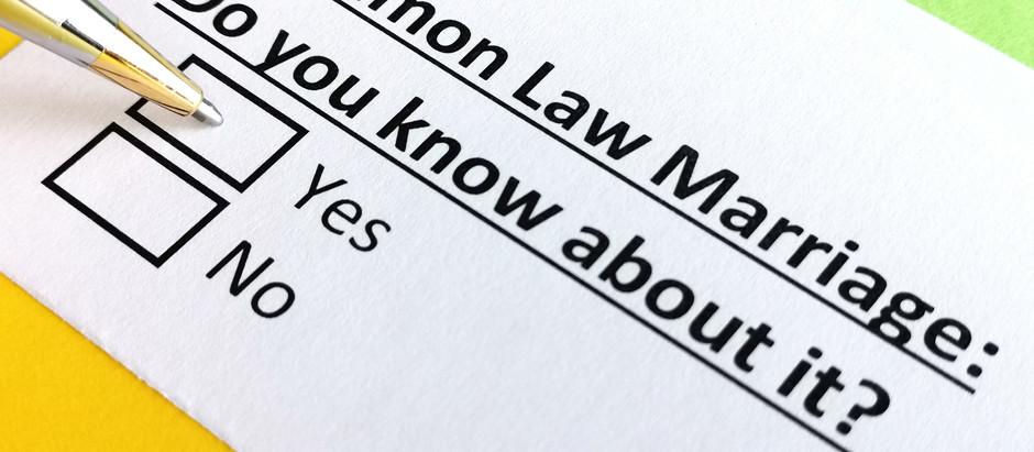 Understanding Common Law Marriage and Divorce