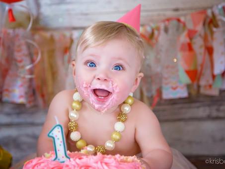 CAKE SMASH!!