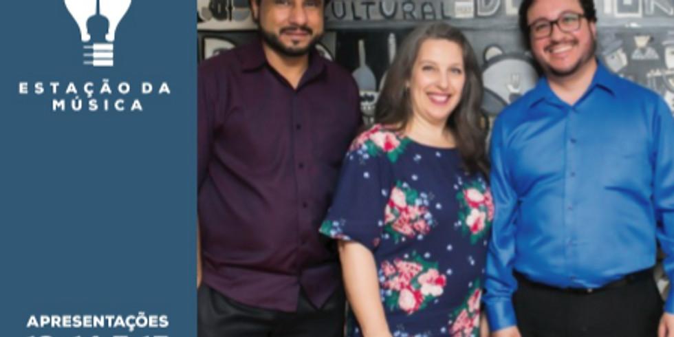Trio Diana Mota, Álvaro Henrique e Renato Vieira