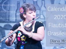 Calendário 2020 - Flautistas Brasileiros