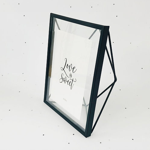 10x15 מסגרת זמיר שחורה