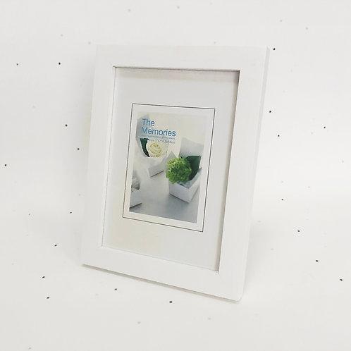 13x18 מסגרת עץ לבן