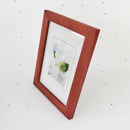 13x18 מסגרת עץ אדמדם