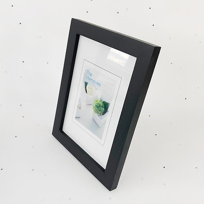 13x18 מסגרת עץ שחור
