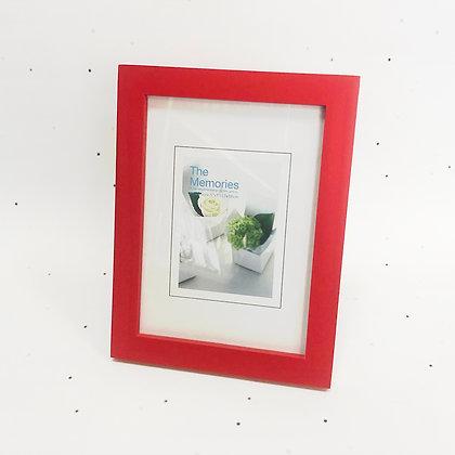 13x18 מסגרת עץ אדום