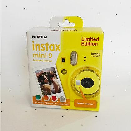 instax mini 9 yellow