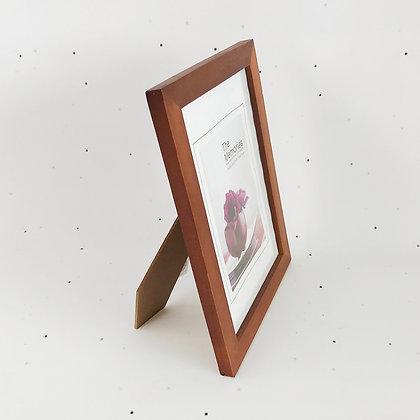 15x21 מסגרת עץ חום