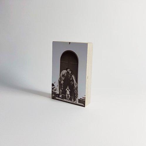 10x15 בלוק עץ בירץ