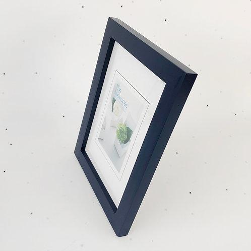 13x18 מסגרת עץ כחול