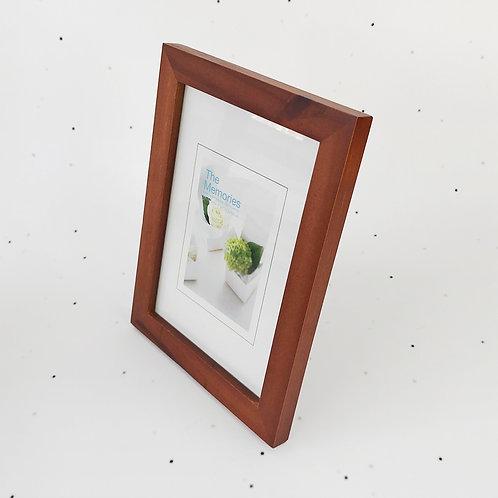 13x18 מסגרת עץ חום