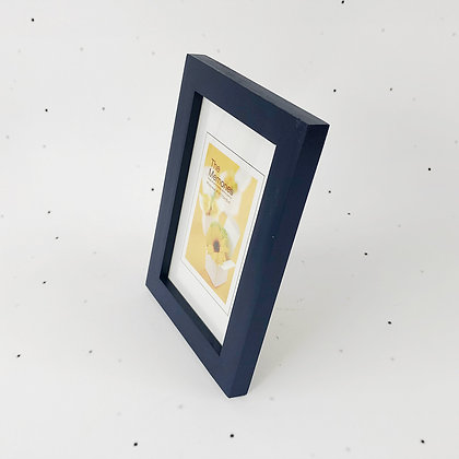 15x10 מסגרת עץ כחול