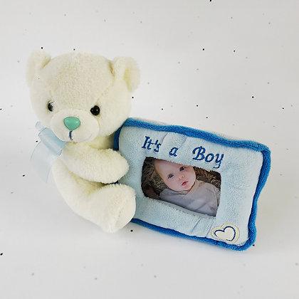 דובי מסגרת תכלת