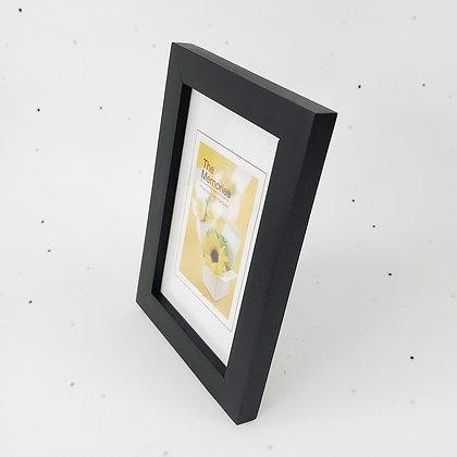 15x10 מסגרת עץ שחור