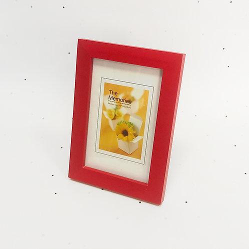 15x10 מסגרת עץ אדום