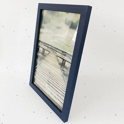 מסגרת עץ כחול A4