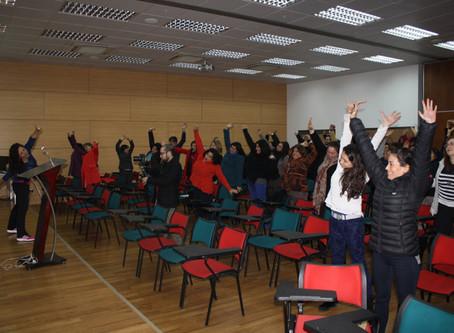 Funcionarios de la Facultad de Medicina de la U. de Chile participan del programa de Bienestar