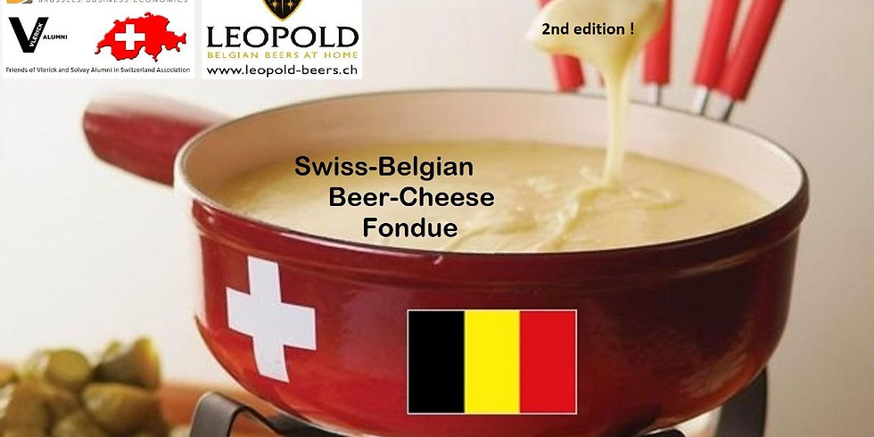 Swiss-Belgian Beer-Cheese Fondue