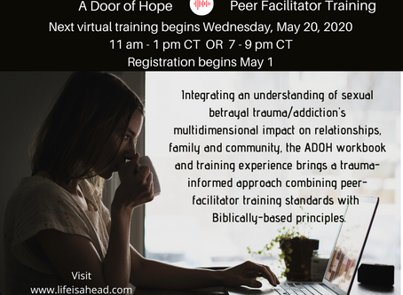 Peer facilitators: Becoming first line responders in sexual betrayal trauma recovery