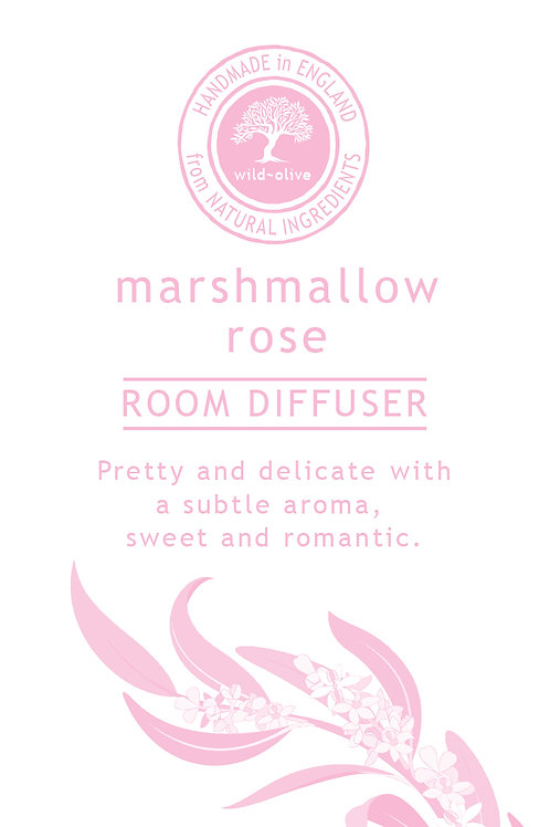 Marshmallow Rose Small Room Diffuser