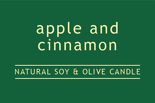 Apple and Cinnamon Small Glass