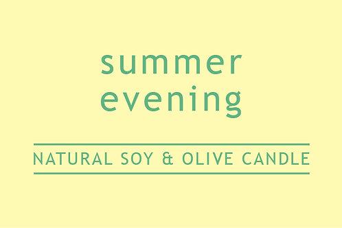 Summer Evening Small Glass