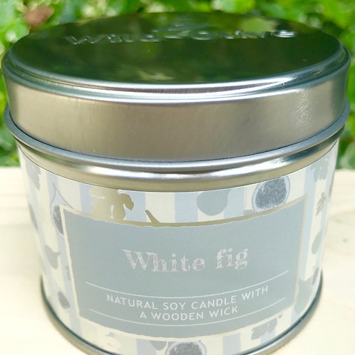 White Fig  Candle