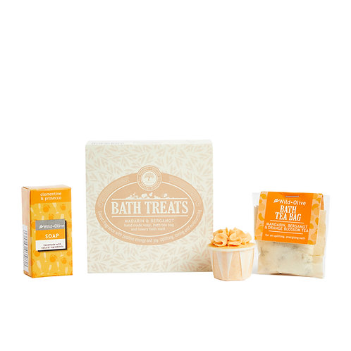 Bath Treats- Mandarin & Bergamot