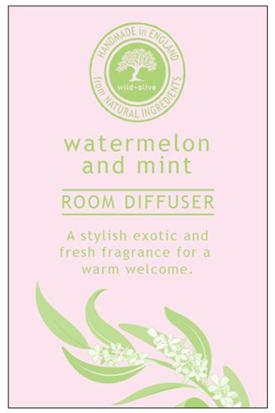 Watermelon and Mint Small Room Diffuser