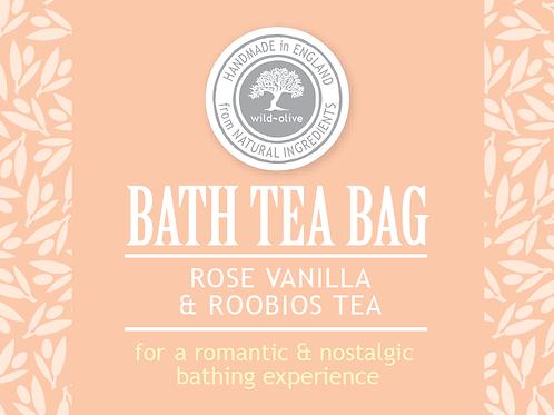 Rose Vanilla & Roobios Tea