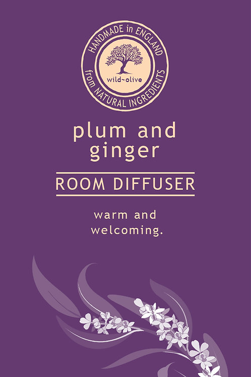 Plum and Ginger Small Room Diffuser