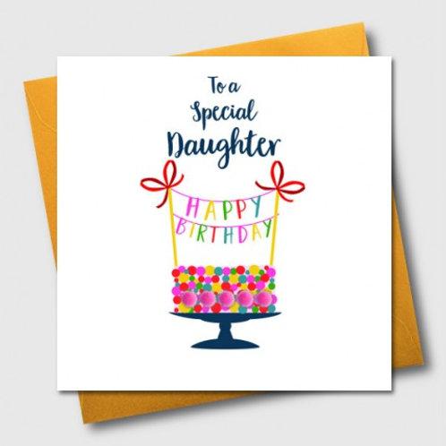POM POM TO A SPECIAL DAUGHTER, HAPPY BIRTHDAY