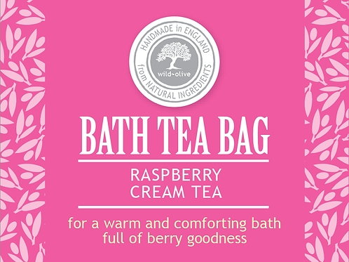 Raspberry and Cream Tea