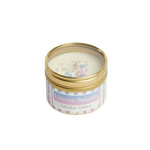 Unicorn Magic Small Dotty Tin