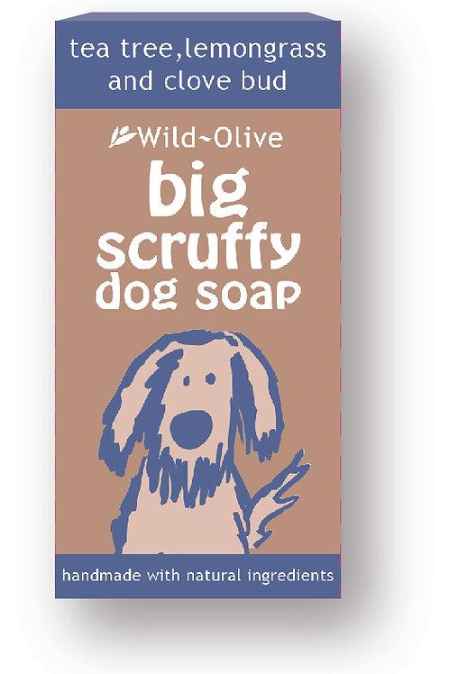 50g Big Scruffy Dog Soap