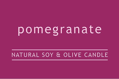Pomegranite Small Glass