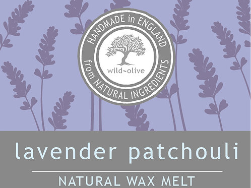 Lavender Patchouli Wax Melt