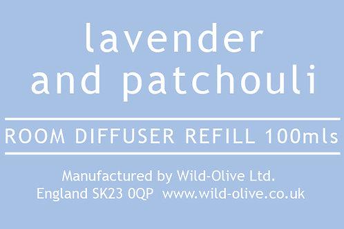 Lavender Patchouli Refill