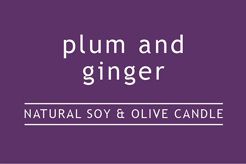 Plum and Ginger Small Glass