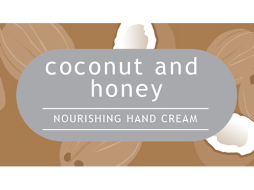 Coconut and Honey Hand Cream TESTER