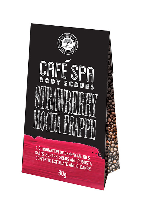 Strawberry Mocha Frappe Scrub