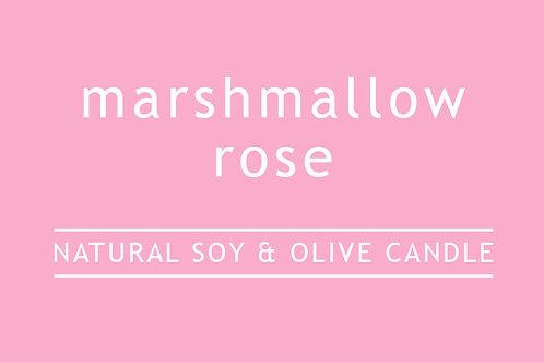 Marshmallow Rose Small Glass