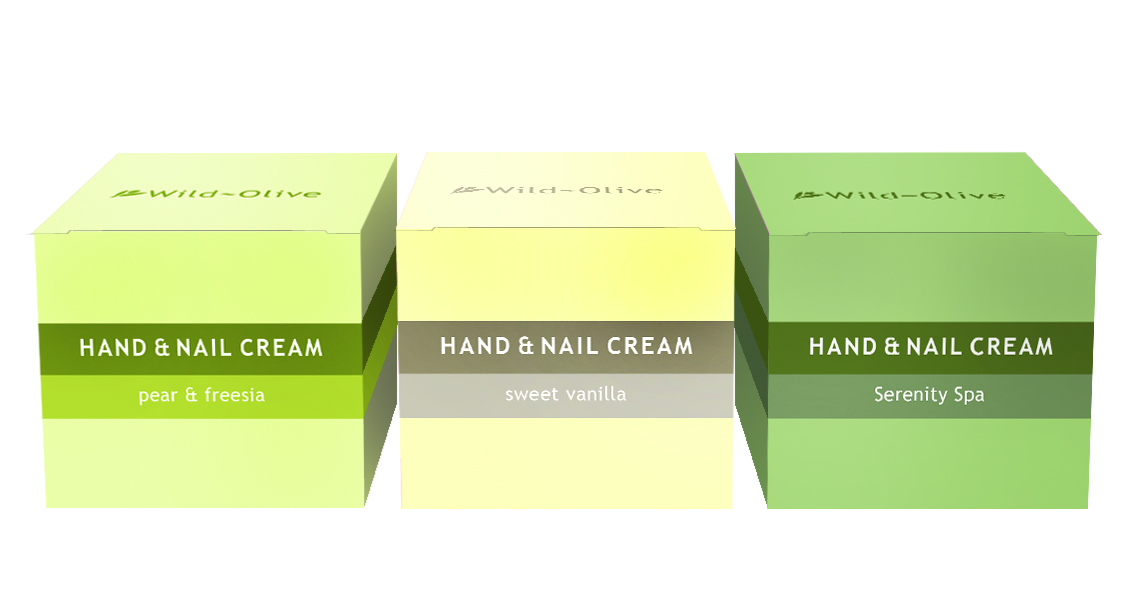 hand cream visuals flat