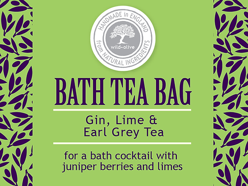 Gin, Lime and Earl Grey Tea