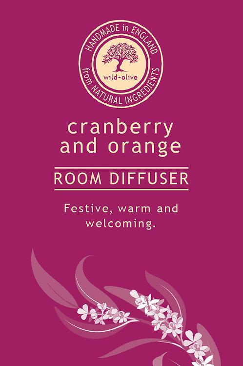Cranberry and Orange Small Room Diffuser