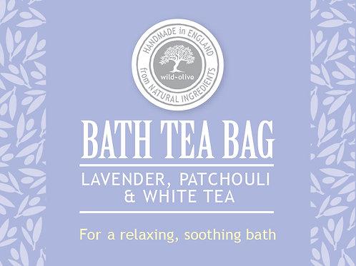 Lavender, Patchouli and White Tea